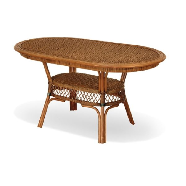 Cane Chair Table