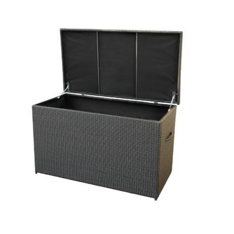 rattan cushion storage box
