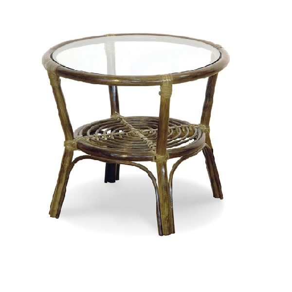 Wicker rattan coffee table
