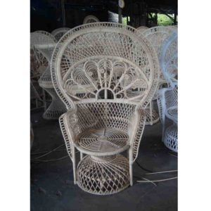 cane peacock chair for sale