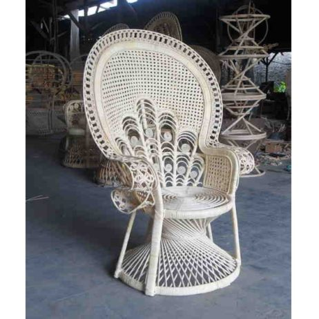 peacock wicker chair for sale