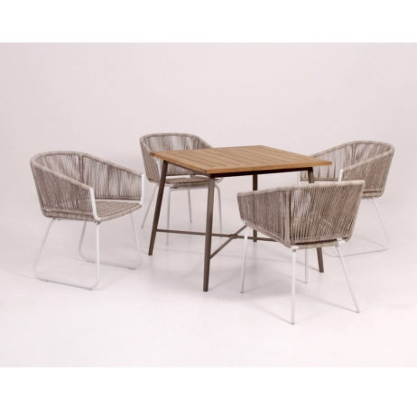 All weather wicker dining sets