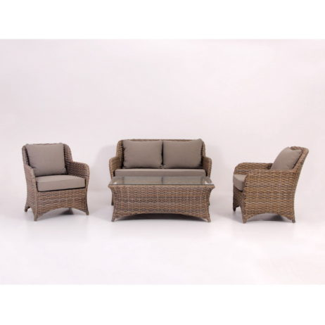 Synthetic rattan garden furniture Indonesia