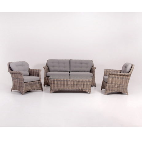 Synthetic rattan garden furniture sets