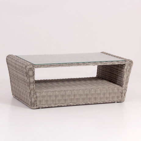 synthetic rattan coffee table