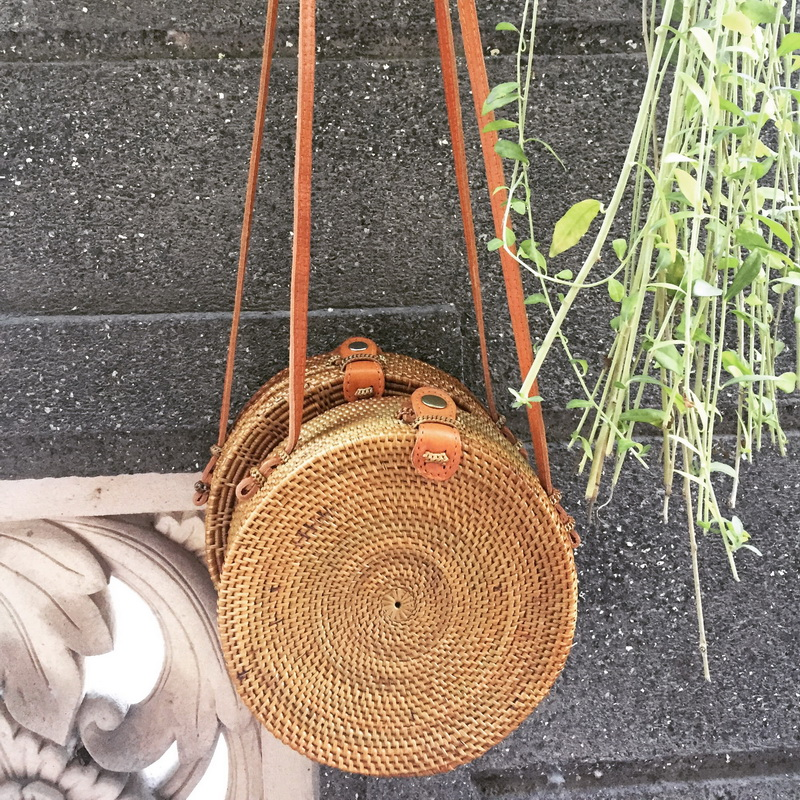 Round Wicker Bag Best Supplier And Exporter From Indonesia