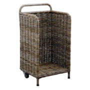 Firewood Storage Trolley