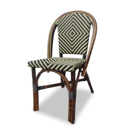 rattan bistro chairs indonesia