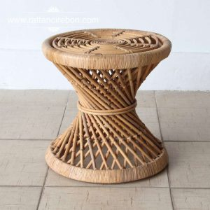 Wicker rattan coffee table