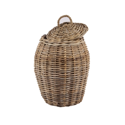 how to make a rattan basket