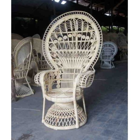 peacock wicker chair wholesale