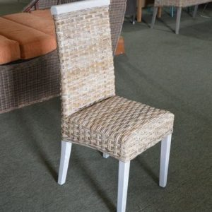rattan parsons chairs