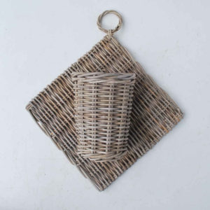 rattan hanging baskets