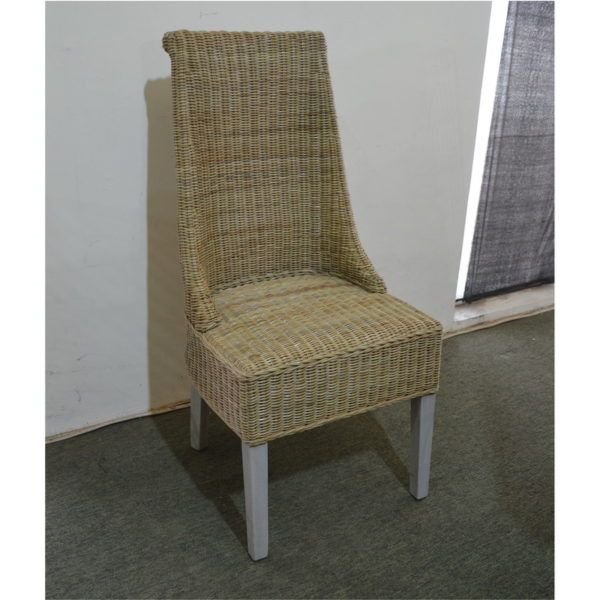 Kubu rattan dining chairs