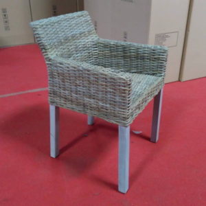 Kubu Grey Wicker Chairs