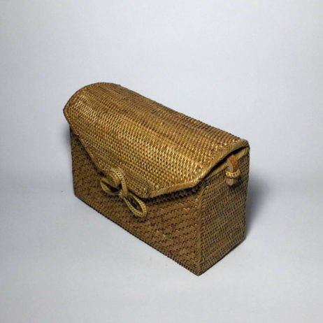 Brown Rattan Bag