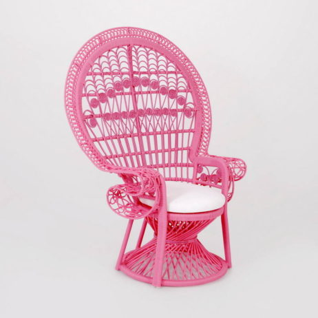 Peacock Chair Pink