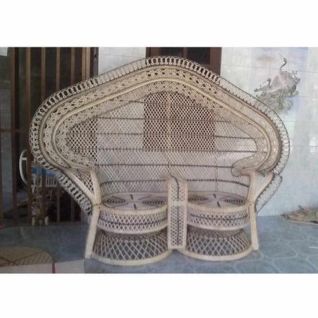 peacock love chair