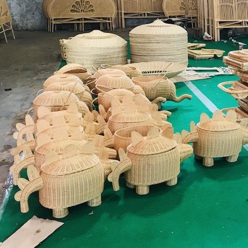 Basket making