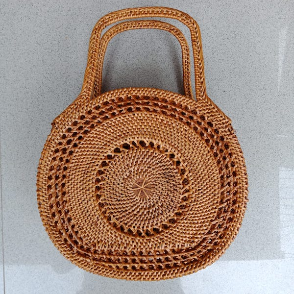 straw bag bali